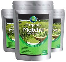 Premium Matcha Green Tea Powder 100% naturale organico Grade AAAAA. UK Venditore *****