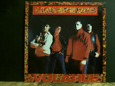 LIME SPIDERS  Volatile     LP  Australian Punk Psych    Lovely copy !