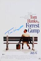 """Tom Hanks Signed """"Forrest Gump"""" 12x18 Movie Poster (Beckett COA)"""