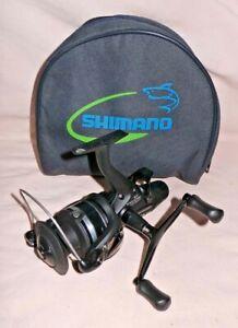 shimano ST 10000 RB baitrunner reel + case MINT COND