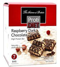 ProtiDiet - Raspberry Dark Chocolate High Protein Diet Bar