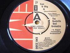 """La Orquesta de Nashville Soul-puede u Dig It 7"""" Vinilo Demo"""