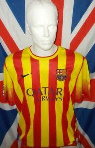 Official F.C Barcelona Spain Away Shirt 2013-2014 (XL)