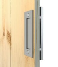 Stainless Steel Pull and Flush Handle Set for Wood Door