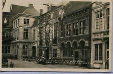 Belgium Antwerpen Anvers International Expo Oud Gulden Vlies Straat RP postcard