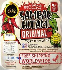 100% Authentic Sambal Hitam Pahang Chili Sauce Tempoyak Fermented Durian