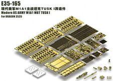 ET Model 1/35 Modern US M1A1 MBT TUSK I Detail-up Set for Dragon kit #3535