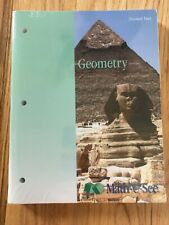 Brand New Math-U-See Geometry Student Text & Test Booklet