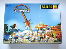 Jahrmarkt Kirmes Karussell roundabout RAINBOW, Faller #436 in 1:87 H0 boxed!
