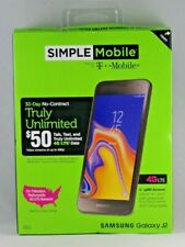 NEW Simple Mobile Samsung Galaxy J2  16GB 4G LTE