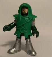 Imaginext Eagle Talon Castle Archer Green Knight Figure