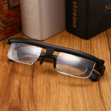 Dial Adjustable Glasses Variable Focus For Reading Distance Vision Eyeglasses
