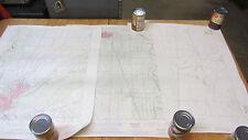 Vintage Lot of 3 Topo Maps Gridley Yuba City Honcut Quads 7.5 min 1952 1972