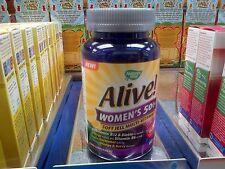 Alive-Multivitaminas Para Mujer-Hollands & Barret -60 Cápsulas
