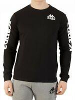 Kappa Authentic Ruiz Shirt Sweatshirt Langarm T-Shirt Frühling Herbst Schwarz