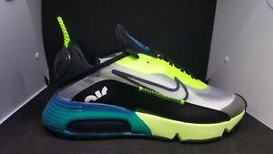Nike Air Max 2090 Men Lifestyle Shoes Sneakers White Black Volt BV9977-101