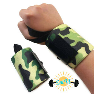 Premium Power Weight Lifting Wrist Wraps Supports Gym Workout Bandage Straps 18""