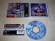 THE KING OF FIGHTERS 97 + SPINE NEO GEO CD