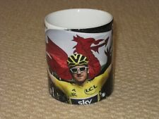 Geraint Thomas Tour de France Winner 2018 Flag MUG