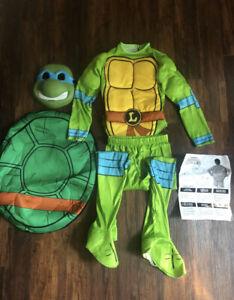 Teenage Mutant Ninja Turtles Leonardo Child's Costume Size Small