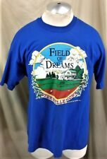 "Vintage 1991 Field of Dreams ""Dyersville"" (XL) Classic Baseball Movie T-Shirt"