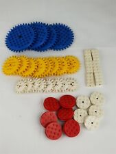Vintage Lego Gears Building Toys 35 Pieces Samsonite Moving Gear Lot