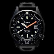 Orologio Squale Professional 500mt - Cassa acciaio PVD Nero Cinturino Tropic