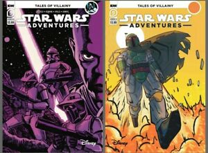 Star Wars Adventures #9 Cover A B Variant Set Options Boba Dowdy IDW NM