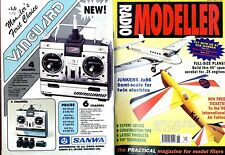 RADIO MODELLER MAGAZINE 1996 JUN FLYING FOX & WIGHT WIZARD FREE PLANS,