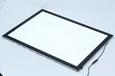 A1 SLIM LED LIGHT BOX POSTER DISPLAY - Black/white  Magnetic front