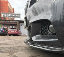 BMW F10 F11 M-Sport PARAURTI ANTERIORE Spoiler carbonio bordi mento M TUNING