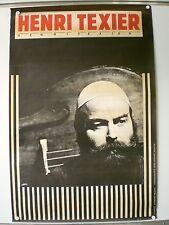 HENRI TEXIER AFFICHE ORIGINALE TRES RARE (1979)