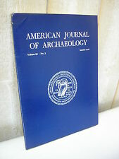AMERICAN JOURNAL of ARCHAEOLOGY 1976 N°3