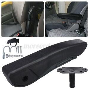 31cm Leather Left Side & Bracket Adjustable Car Seat Armrest Console Box ArmRest