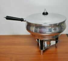 Vintage Mid Century, Chafing Dish/Hot Buffet Server-Made in Spain