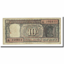 [#169889] Banknote, India, 10 Rupees, undated (1969), KM:69b, VF(20-25)