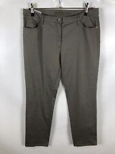 BRAX Damen Hose, Größe 46, grau, stretch, schlicht, neuwertig