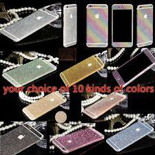 Glitter Bling Skin full body Sticker/protector case for apple iPhone 5 5s 5c SE