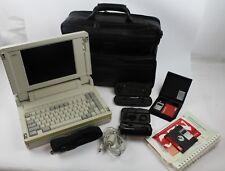Rare Vintage NEC ProSpeed SX20 386 Laptop Bundle No HDD*