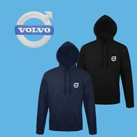 Volvo Hoodie EMBROIDERED Auto Car Logo Sweatshirt Womens Mens Clothing Gift