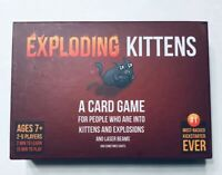 NEW Exploding Kittens Original Edition Family Fun Party Card Game