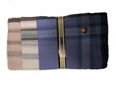 12 Herren-Taschentücher 38 x 38 cm 100% Baumwolle Stofftaschentücher Taschentuch