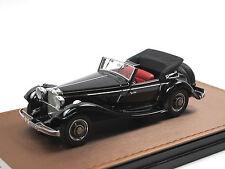 GLM 1936 Mercedes-Benz 290 Cabriolet A (W 18) offen schwarz 1/43 Limitiert 299