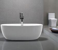 Naples Designer White Freestanding 1700mm x 800 Modern Baths Tub