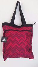 NWT ADIDAS STUDIO CLUB BAG Pink/Black Tote Shoulder Bag Women's Gym Bag
