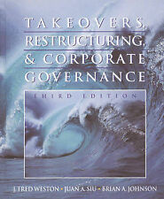 Takeovers, Restructuring, and Corporate Governance (Prentice Hall Finance Series