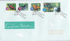 2004 Nature of Australia! Rain Forest Butterflies FDC - Daintree Qld 4873 PMK