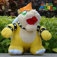 "Super Mario Bros Plush Toy Bowser Koopa 10"" Colloction Stuffed Toy Cartoon Doll"