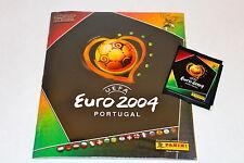 Panini EM EC Euro 2004 04 – KOMPLETTSATZ COMPLETE SET + Album SEALED/OVP