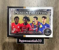 20-21 Topps UEFA Champions League Museum Collection Soccer Hobby Box New In hand